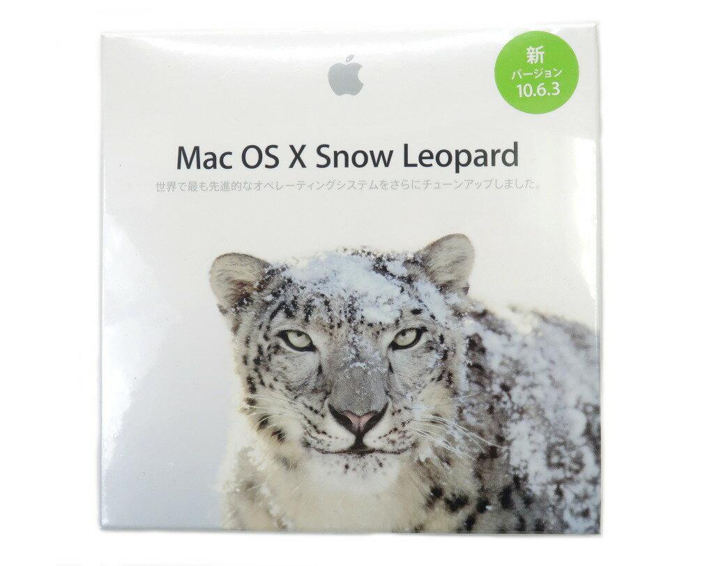 Apple 未開封 MC573J/A MacOS X 10.6.3 Snow Leopard ソフトウェア 【未開封】【20181129】