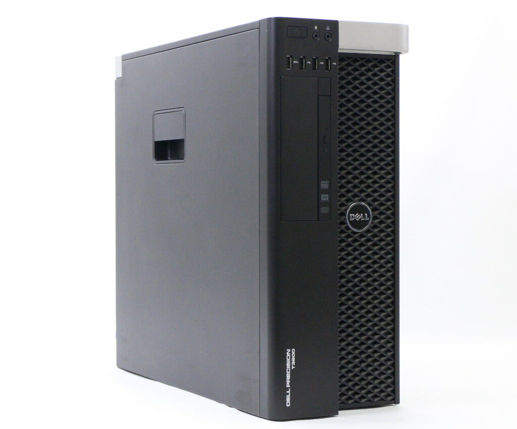 DELL Precision T3600 635W電源搭載 Xeon E5-1650 3.2GHz 16GB 500GB Quadro K600 DVD+-RW Windows7 Pro 64bit 【中古】【20181019】