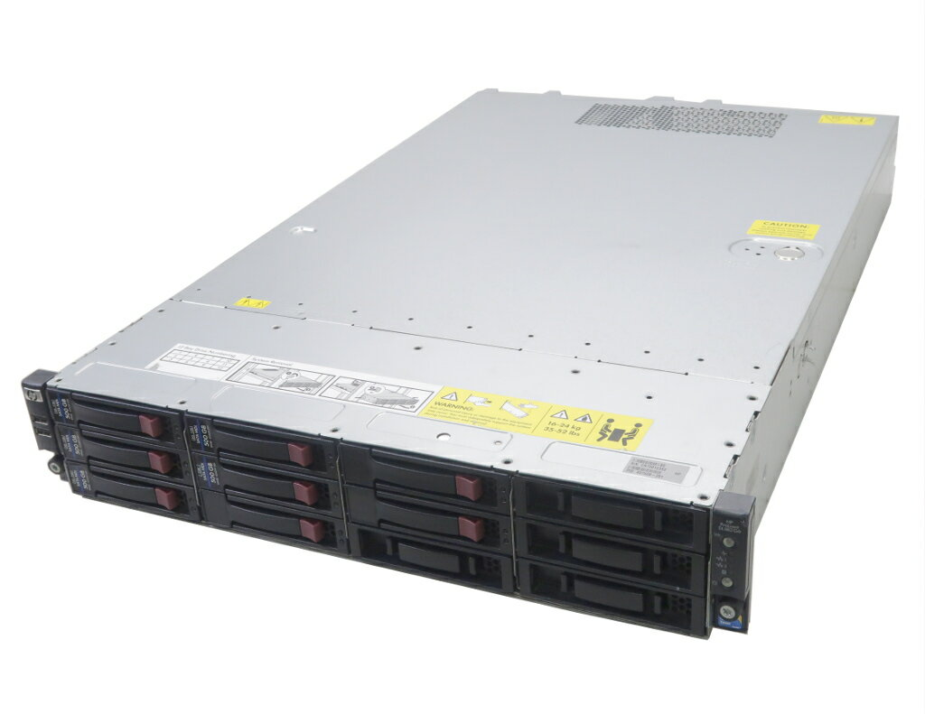 hp ProLiant DL180 G6 Xeon E5520 2.26GHz 6GB 500GBx5台(SATA3.5インチ/RAID5構成) DVD-ROM SmartArray-P212 【中古】【20181018】