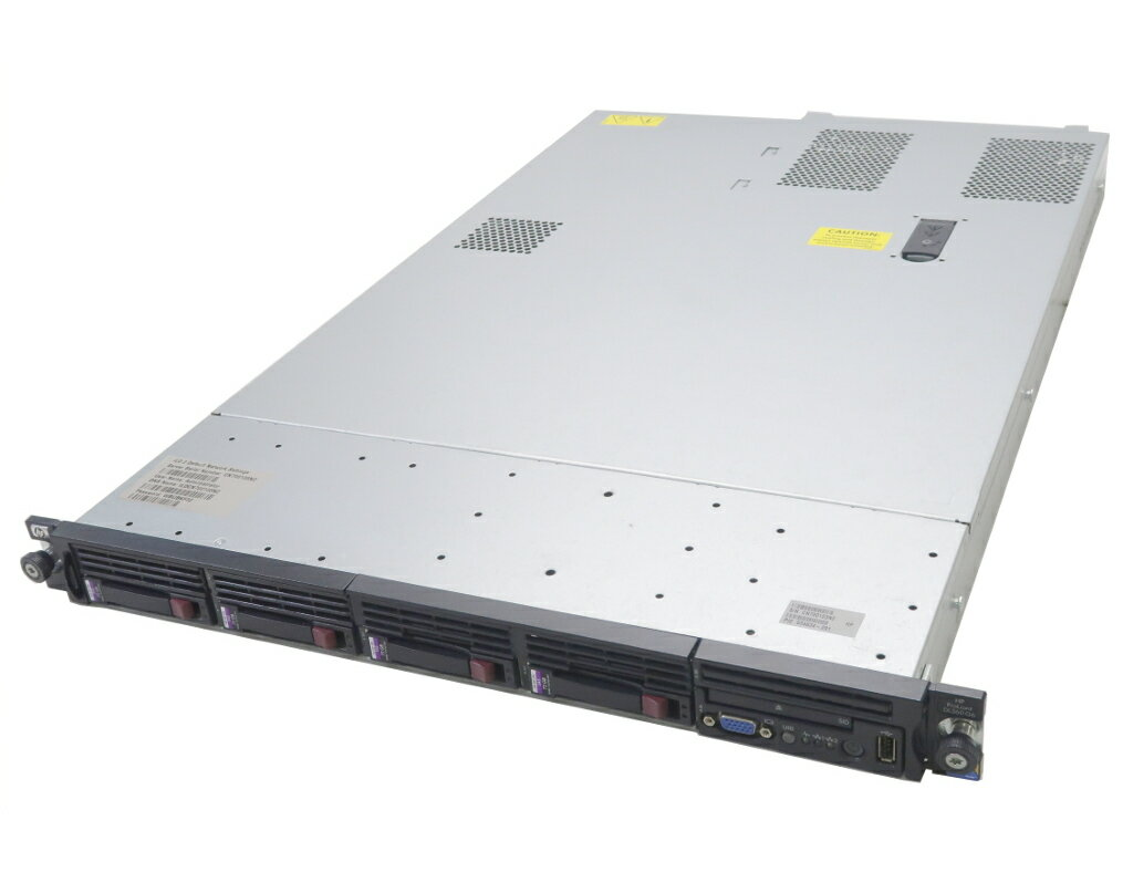 hp ProLiant DL360 G6 Xeon E5540 2.53GHz 12GB 73GBx4台(SAS2.5インチ/6Gbps/RAID5構成) AC*2 SmartArray-P410i 【中古】【20181018】