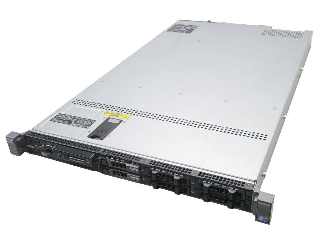 DELL PowerEdge R610 Xeon L5520 2.26GHz*2 32GB 300GBx2台(SAS2.5インチ/6Gbps/RAID1構成) DVD-ROM SAS 6i/R 【中古】【20181018】