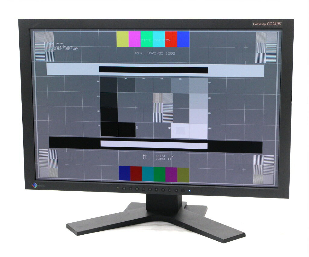 EIZO ColorEdge CG241W 24.1インチ 非光沢パネル WUXGA 1920x1200ドット DVI-I x2系統入力 6122h 【中古】【20181121】
