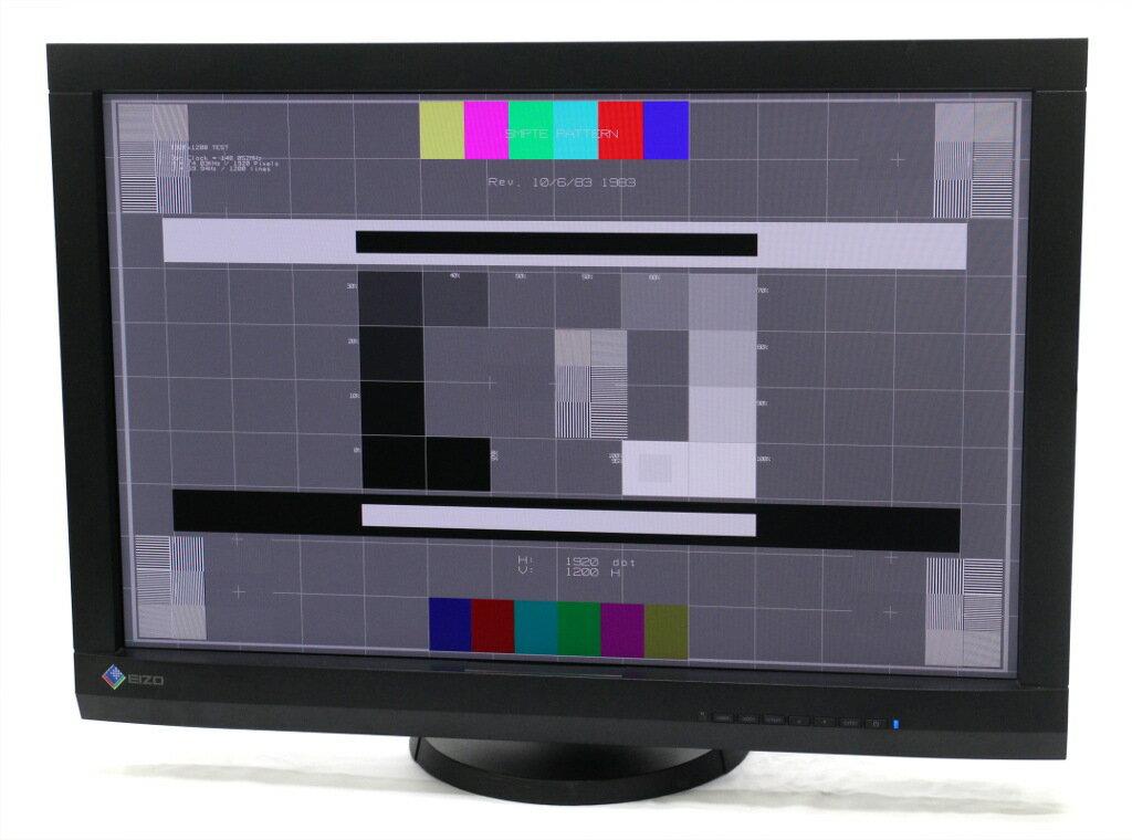 EIZO ColorEdge CG246 キャリブレーションセンサー内蔵モデル 24.1インチ IPSパネル WUXGA 1920x1200 DVI-I/HDMI/DisplayPort 【中古】【20181121】