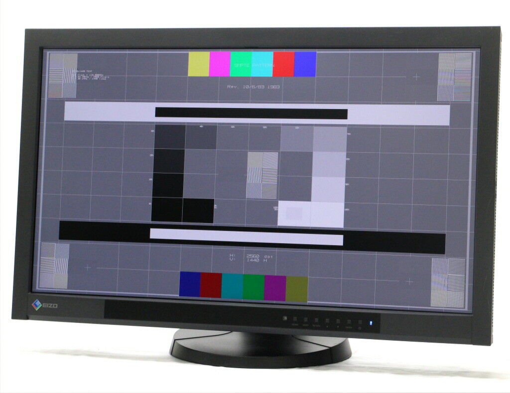 EIZO ColorEdge CX271 27インチ 非光沢 IPSパネル WQHD 2560x1440ドット DVI-D/DisplayPort/HDMI入力 1684h 【中古】【20181121】