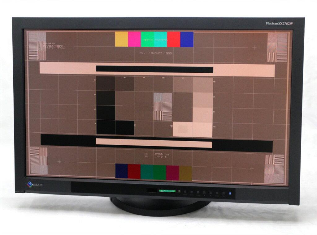 EIZO FlexScan SX2762W 小難あり 27インチ 非光沢 IPSパネル WQHD 2560x1440 DVI-Dx2系統/DisplayPort/mini DisplayPort 【中古】【20181121】