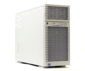 NEC Express5800/T110d Xeon E5-2403 1.8GHz 12GB 1TBx2台(SATA 2.5インチ/RAID1構成) DVD-ROM LSI Mega RAID SAS 9267-8i 【中古】【20181122】