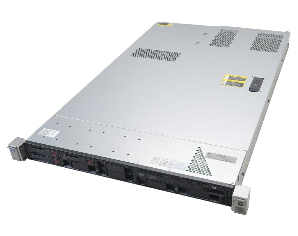 hp ProLiant DL360e Gen8 Xeon E5-2420 1.9GHz 12GB 300GBx3台(SAS2.5インチ/6Gbps/RAID5構成) DVD-ROM AC*2 SmartArray-B320i 【中古】【20181207】