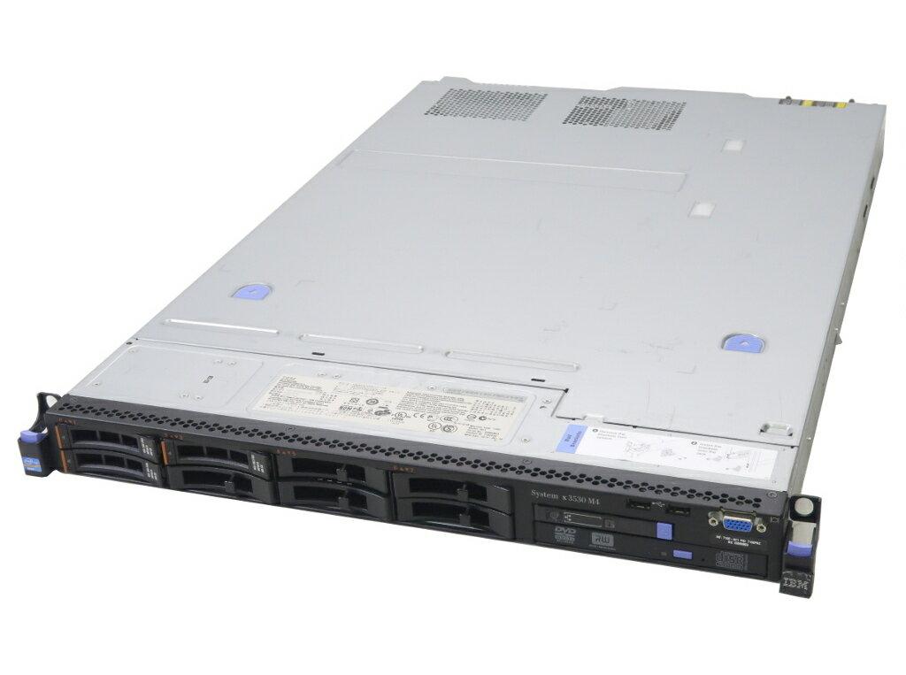 IBM System x3530 M4 Xeon E5-2430 2.2GHz 16GB 300GBx3台(SAS2.5インチ/6Gbps/RAID5構成) DVD+-RW AC*2 ServeRAID M5110 【中古】【20181207】