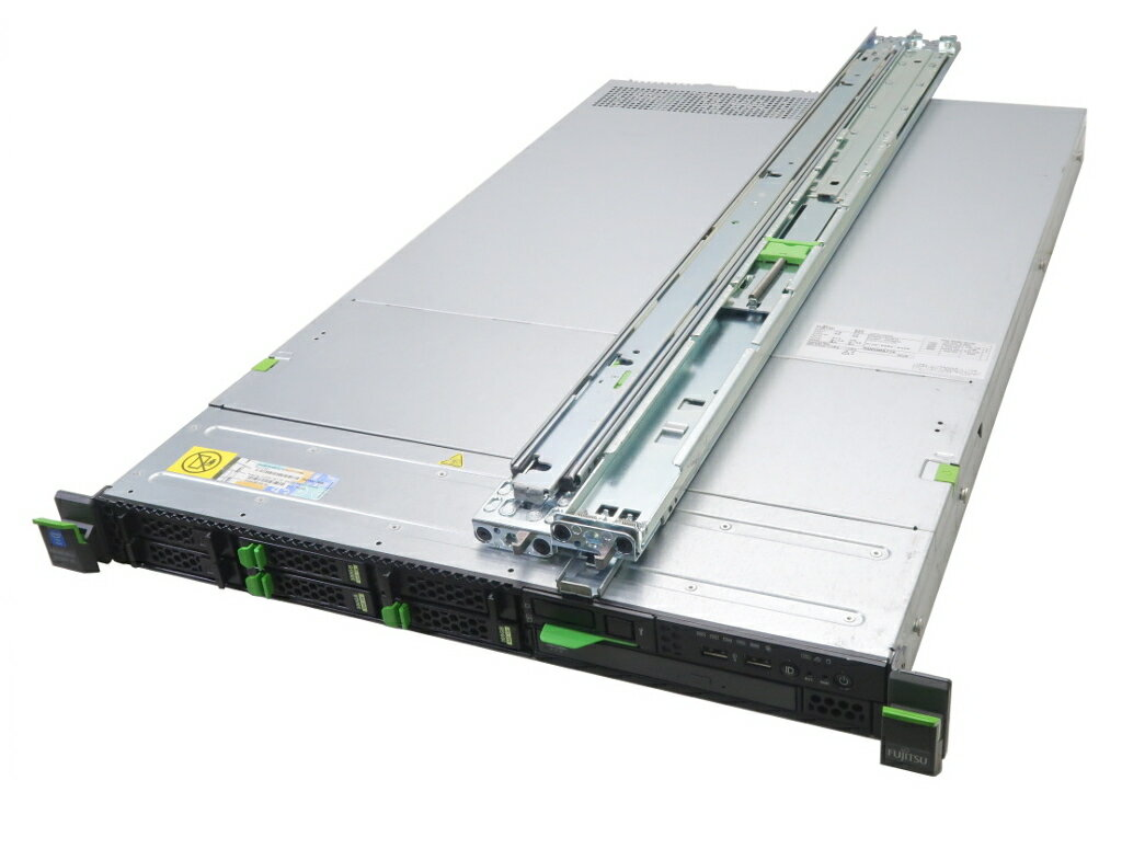 富士通 PRIMERGY RX200 S8 Xeon E5-2620 v2 2.1GHz*2 16GB 300GBx3台(SAS2.5インチ/6Gbps/RAID5構成) DVD-ROM AC*2 D3116C 【中古】【20181207】