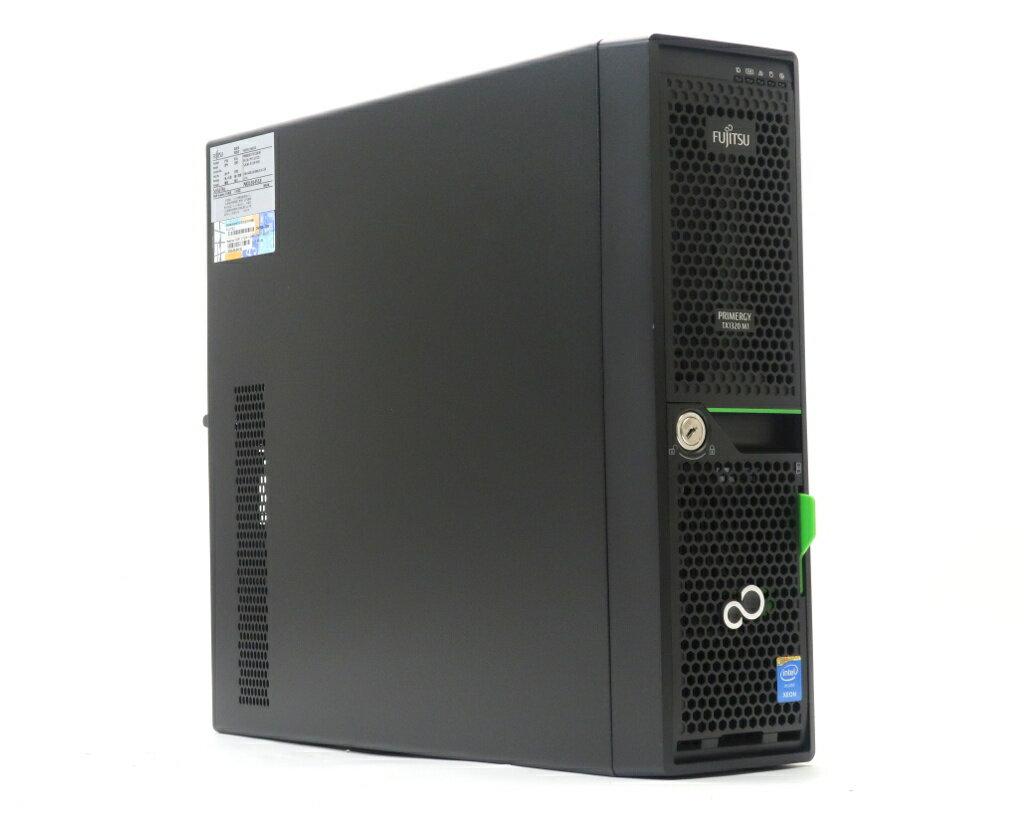 富士通 PRIMERGY TX1320 M1 Xeon E3-1220 v3 3.1GHz 8GB 1TBx2台(SATA2.5インチ/RAID1構成) DVD-ROM 【中古】【20181207】