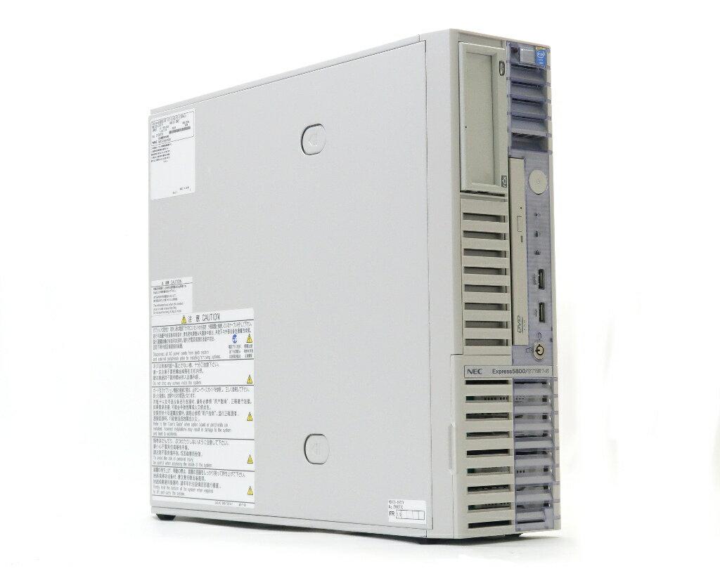 NEC Express5800/GT110f-S Xeon E3-1220 v3 3.1GHz 8GB 300GBx4台(SAS2.5/6Gbps/RAID6) DVD-ROM LSI Mega RAID SAS 9267-8i 【中古】【20181207】