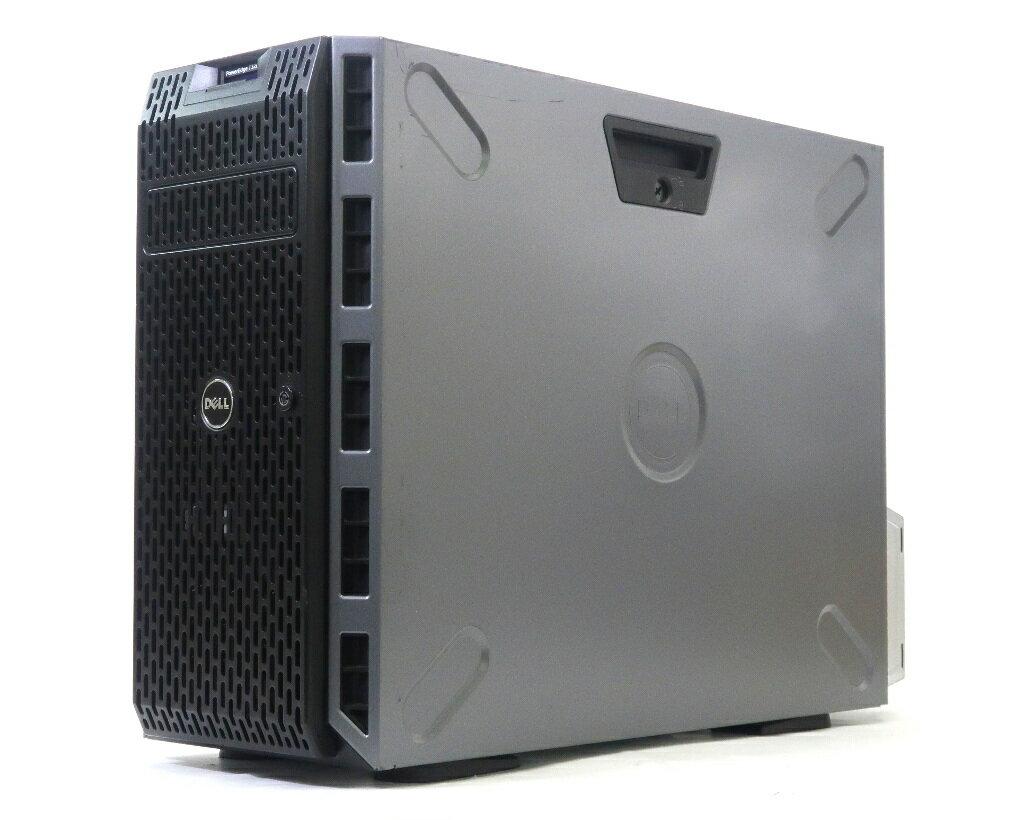 DELL PowerEdge T320 冗長電源 Xeon E5-1410 2.8GHz 16GB 600GBx2台(SAS3.5インチ/6Gbps/RAID1構成) DVD-ROM AC*2 PERC H710 【中古】【20181207】