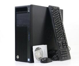 hp Z440 Xeon E5-1620 v3 3.5GHz 16GB 500GB Quadro K2000 DVD-ROM Windows10 Pro 64bit 【中古】【20190104】