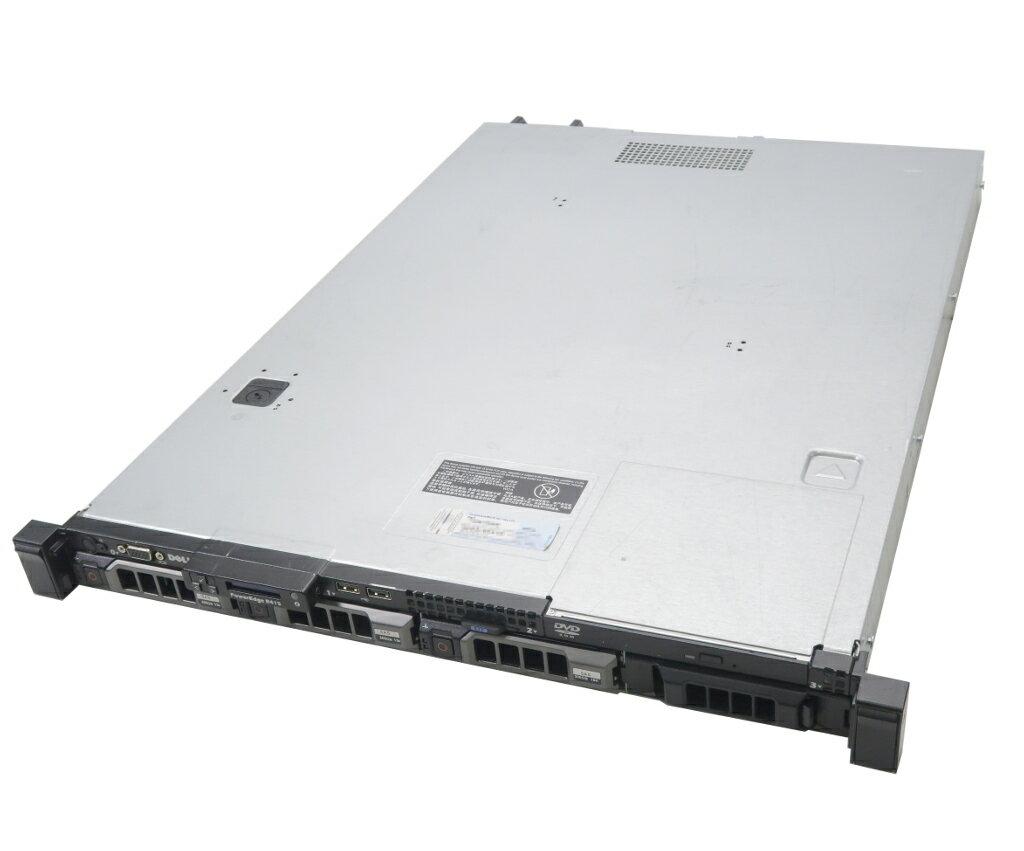 DELL PowerEdge R415 Opteron 4234 3.1GHz 16GB 300GBx3台(SAS3.5インチ/6Gbps/RAID5構成) DVD-ROM AC*2 PERC H700 【中古】【20190208】
