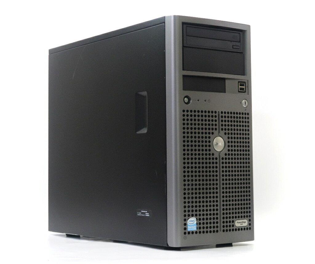 DELL PowerEdge 840 Pentium E2180 2GHz 2GB 160GBx2台(SATA3.5インチ/RAID1構成) CD-ROM SAS 5i/R 難有 【中古】【20190208】