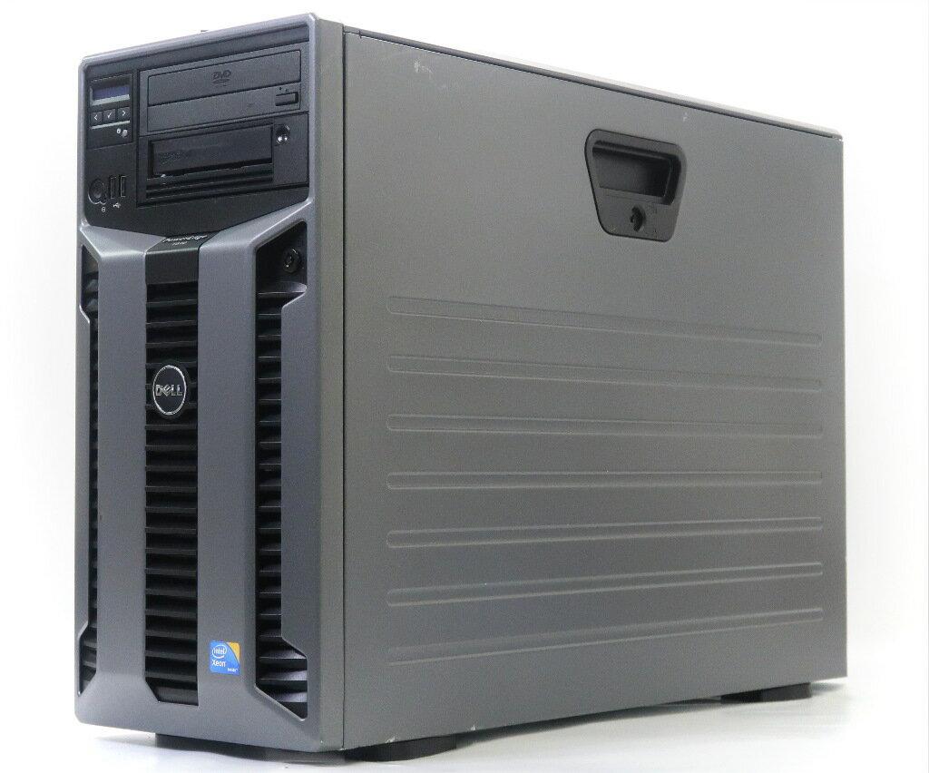 DELL PowerEdge T610 II Xeon E5645 2.4GHz 12GB 300GBx3台(SAS3.5インチ/6Gbps/RAID5構成) DVD-ROM AC*2 PERC H700 【中古】【20190208】