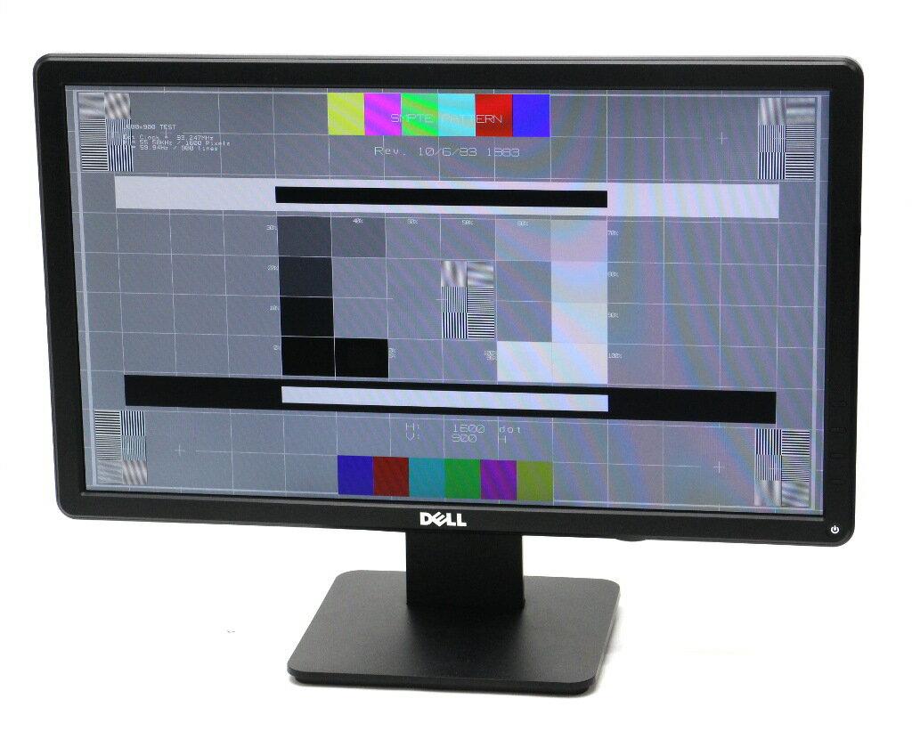 DELL E2014H 19.5インチ 非光沢パネル HD+ 1600x900ドット DVI-D/アナログRGB入力 【中古】【20190319】