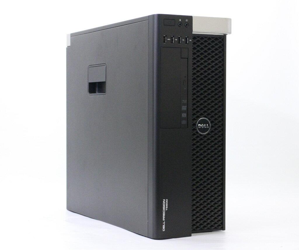 DELL Precision T5600 Xeon E5-2665 2.4GHz 32GB 256GB(SSD) 1TB K2000 BD-RE Windows7 Ultimate 64bit 825W電源搭載 小難あり 【中古】【20190404】