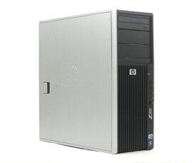 hp Z400 Workstation Xeon W3690 3.46GHz 24GB 300GBx2台構成(SAS3.5インチ) Quadro 2000 DVD-ROM Windows7 Pro 64bit 【中古】【20190425】