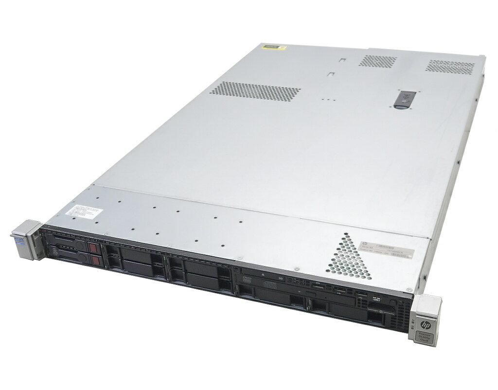 hp ProLiant DL360p Gen8 Xeon E5-2650 v2 2.6GHz*2 32GB 450GBx2台(SAS2.5/6Gbps/RAID1) DVD-ROM AC*2 SmartArray P420i 難あり 【中古】【20190412】