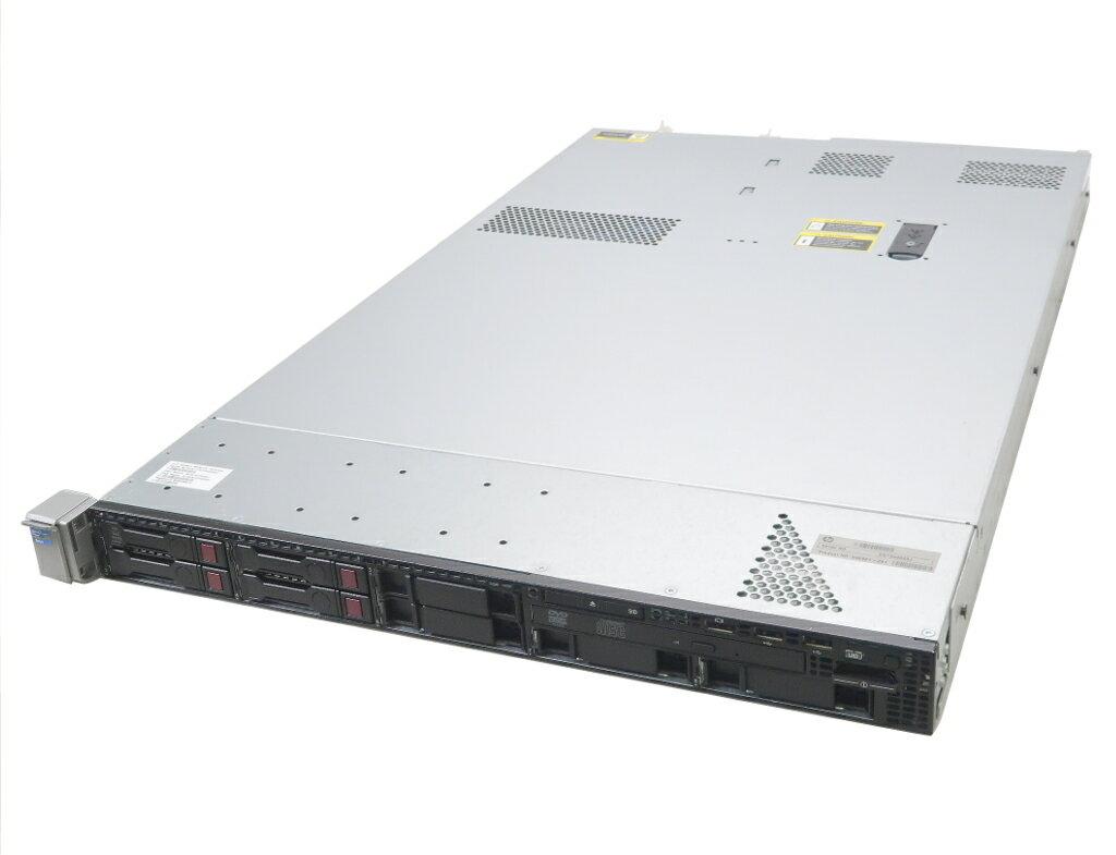 hp ProLiant DL360p Gen8 Xeon E5-2630 2.3GHz 16GB 146GBx4台(SAS2.5/6Gbps/RAID6) DVD-ROM AC*2 SmartArray P420i 難あり 【中古】【20190412】