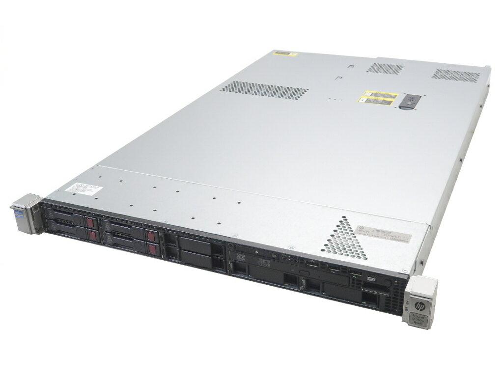 hp ProLiant DL360p Gen8 Xeon E5-2630 2.3GHz*2 16GB 300GBx4台(SAS2.5/6Gbps/RAID6) DVD-ROM AC*2 SmartArray P420i 難あり 【中古】【20190412】