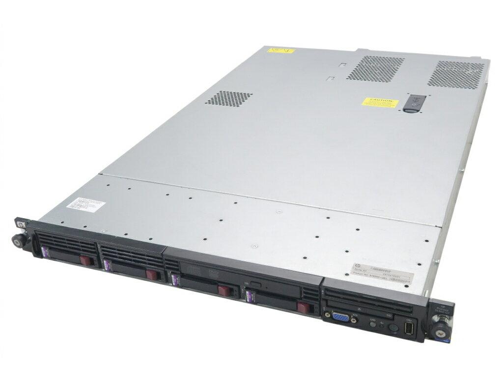 hp ProLiant DL360 G7 Xeon E5649 2.53GHz*2 24GB 146GBx4台(SAS2.5インチ/6Gbps/RAID5構成) DVD-ROM AC*2 SmartArray P410i 【中古】【20190412】