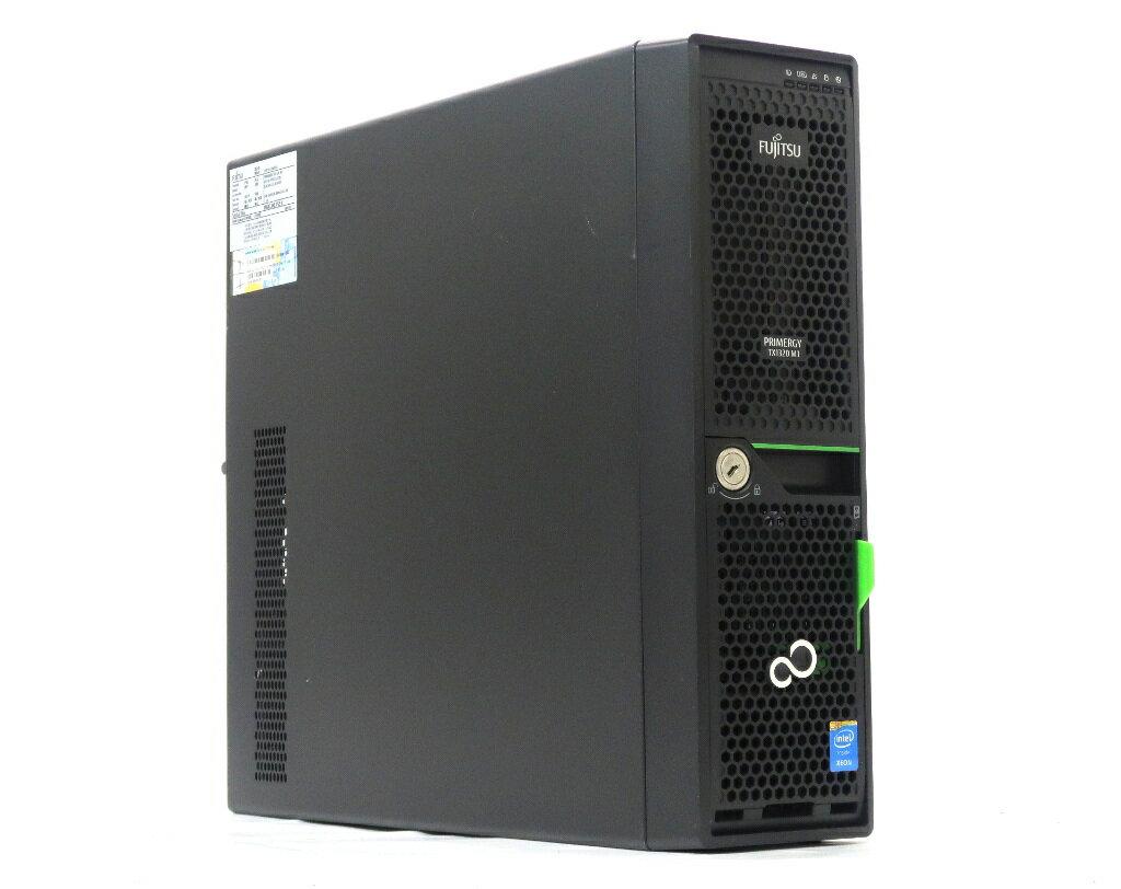 富士通 PRIMERGY TX1320 M1 Xeon E3-1220 v3 3.1GHz 8GB 1TBx2台(SATA2.5インチ/RAID1構成) DVD-ROM 【中古】【20190419】