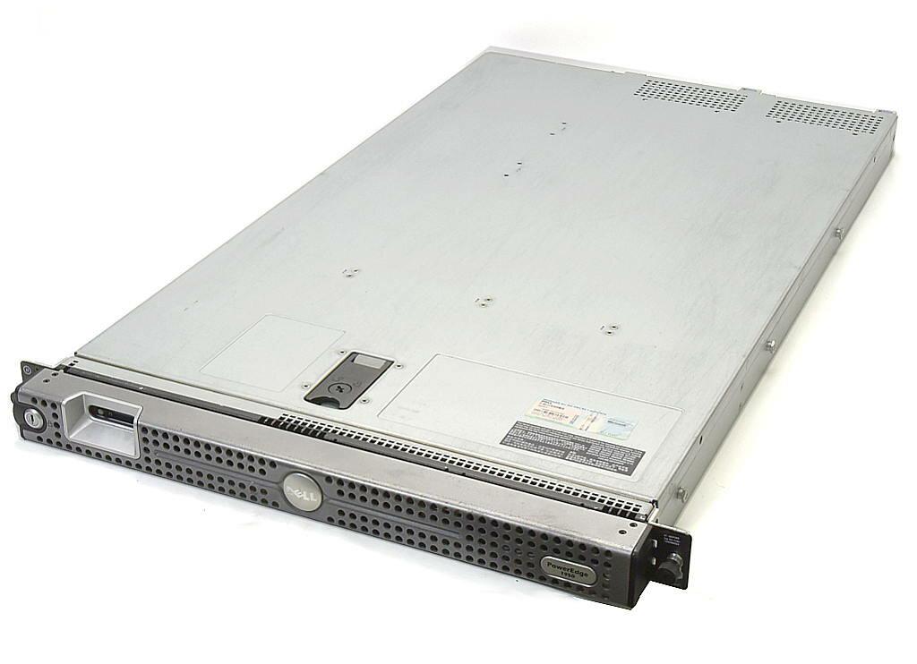 DELL PowerEdge 1950 II Xeon 5140 2.33GHz 4GB 73GBx3台(SAS2.5インチ/RAID5構成) CD-ROM AC*2 PERC5/i 【中古】【20190412】