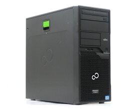 富士通 PRIMERGY TX100 S3 Xeon E3-1220 v2 3.1GHz 8GB 500GBx3台(SATA3.5インチ/RAID5構成) DVD-ROM D2616 【中古】【20190814】