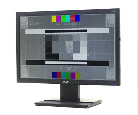 acer V196WL 19インチ 非光沢パネル WXGA+ 1440x900ドット DVI-D/アナログRGB入力 【中古】【20200804】