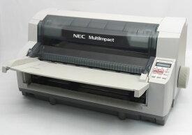 NEC MultiImpact 700XAN LAN標準対応モデル LAN接続対応(100BASE-TX) ドットインパクトプリンタ 簡易動作のみ確認 【中古】【20210608】