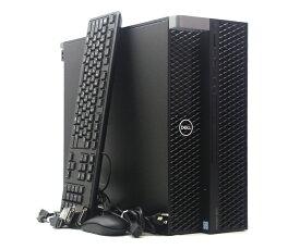 DELL Precision 5820 Tower Xeon W-2133 3.6GHz 32GB 256GB(SSD) 2TB(HDD) Quadro P400 Windows10 Pro for Workstation 64bit 新品SSD使用 【中古】【20210721】