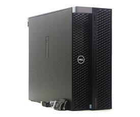 DELL Precision 5820 Tower Xeon W-2123 3.6GHz 16GB 256GB(M.2 NVMe SSD) 1TB(HDD) Quadro M4000 Windows10 Pro for Workstation 64bit 【中古】【20210811】