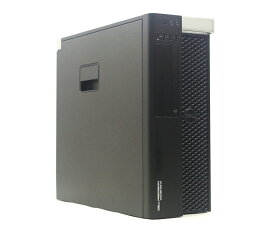 DELL Precision Workstation Tower 5810 Xeon E5-1620 v3 3.5GHz 8GB 256GB(SSD) 1TB(HDD) Quadro K2200 DVD-ROM Windows10 Pro 64bit 【中古】【20210827】