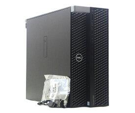 DELL Precision5820 TOWER Xeon W-2195 2.3GHz 64GB 256GB(SSD) 2TB(HDD) Quadro P400 DVD+-RW Windows10 Pro 64bit for Workstation JUNK 【中古】【20210924】