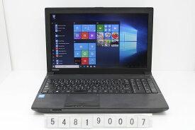 【ジャンク品】東芝 dynabook Satellite B453/M Celeron 1005M 1.9GHz/4G/320G/Multi/15.6W/FWXGA(1366x768)/Win10 USB不良【中古】【20190910】