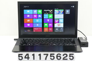 SONYSVP1321GGJCorei74500U1.8GHz/8GB/128GB(SSD)/13.3W/FHD(1920x1080)/Win8【中古】【20170201】