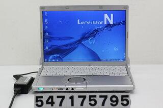 PanasonicCF-N9KW5MDSCorei5M5202.4GHz/4GB/128GB(SSD)/12.1W/WXGA(1280x800)/Win7【中古】【20170804】