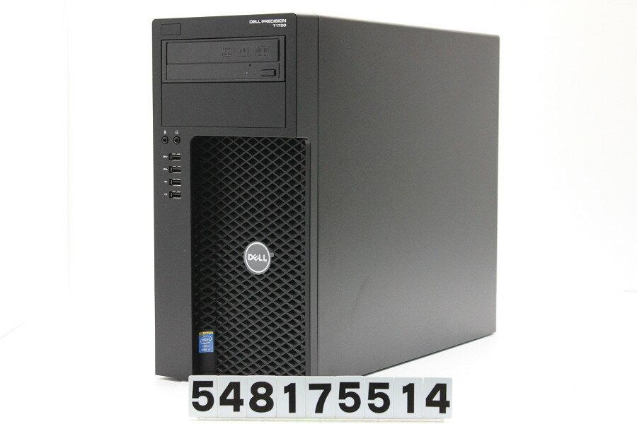 DELL Precision T1700 Core i7 4770 3.4GHz/8GB/128GB(SSD)+1TB/Multi/RS232C/Win7/GeForce GTX 1050Ti【中古】【20170824】