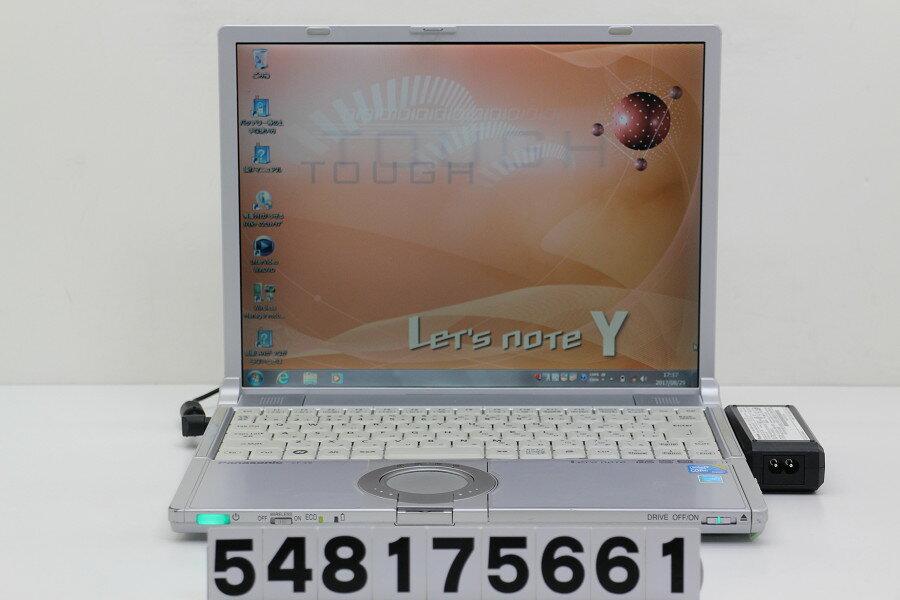 Panasonic CF-Y9JWMAPS Core2Duo U9600 1.6GHz/4GB/250GB/Multi/14.1/XGA(1024x768)/Win7【中古】【20170830】