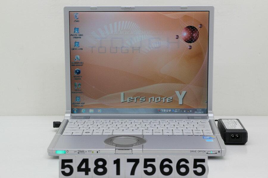 Panasonic CF-Y9JWMAPS Core2Duo U9600 1.6GHz/4GB/250GB/Multi/14.1/XGA(1024x768)/Win7【中古】【20170831】