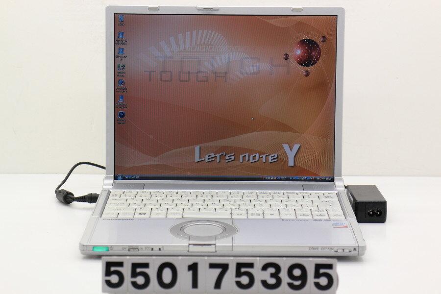 Panasonic CF-Y8EW6AAS Core2Duo T7300 2GHz/2GB/160GB/Combo/14.1/SXGA+(1400x1050)/Vista【中古】【20171018】