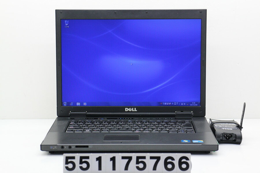 DELL Vostro 1520 Core2Duo P8600 2.4GHz/4GB/160GB/Multi/15.4W/WXGA(1280x800)/Win7【中古】【20171205】