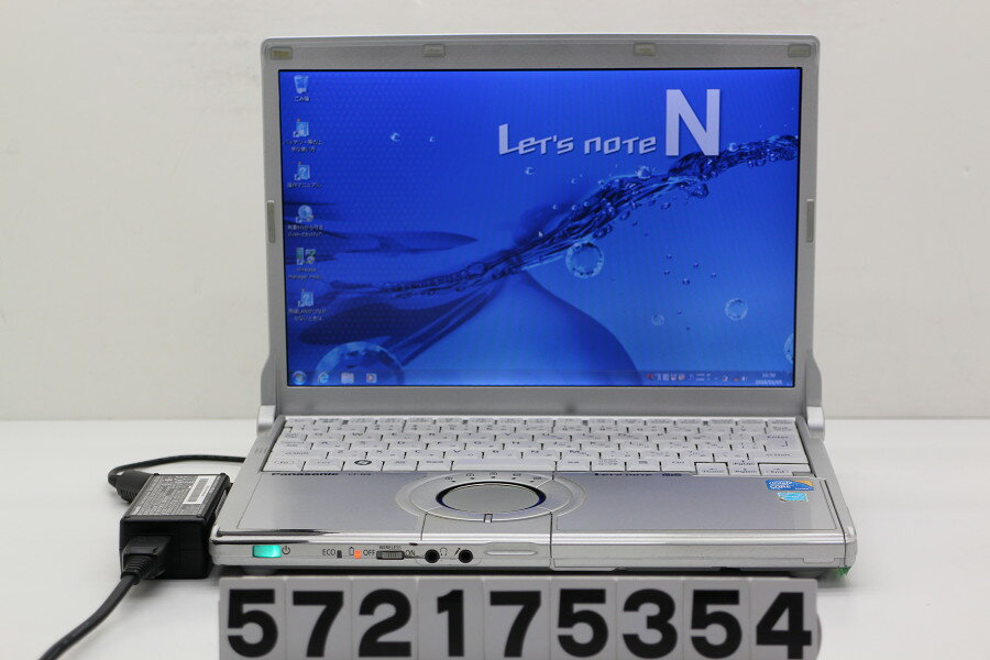 Panasonic CF-N9KW5MDS Core i5 M520 2.4GHz/4GB/128GB(SSD)/12.1W/WXGA(1280x800)/Win7【中古】【20180106】