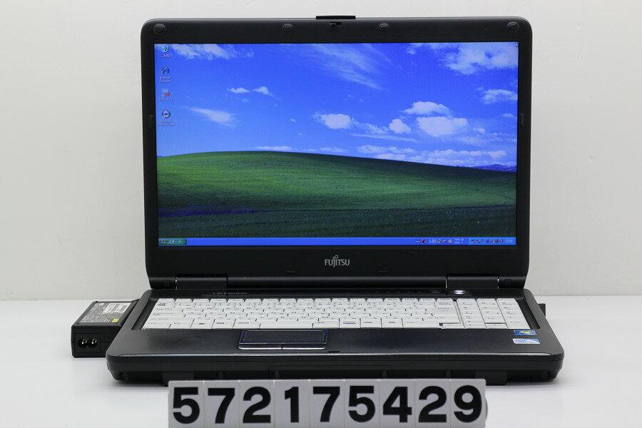 富士通 LIFEBOOK A540/C Celeron 925 2.3GHz/2GB/160GB/Multi/15.6W/FWXGA(1366x768)/XP【中古】【20180120】