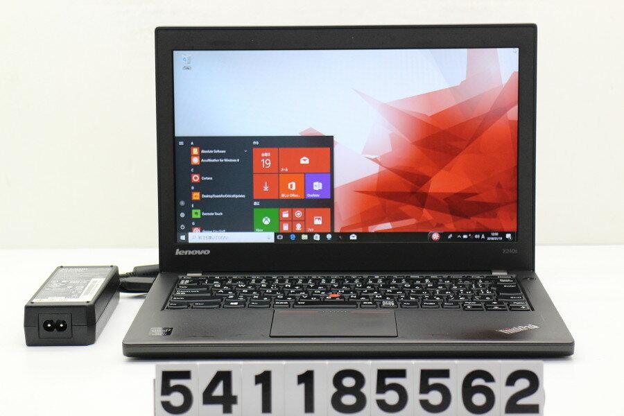 Lenovo ThinkPad X240 Core i7 4510U 2GHz/8GB/256GB(SSD)/12.5W/FWXGA(1366x768)/Win10【中古】【20180120】