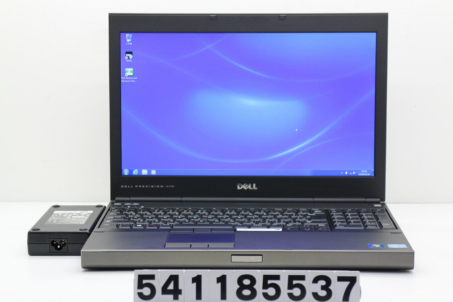 DELL Precision M4700 Core i7 3740QM 2.7GHz/16GB/500GB/Multi/15.6W/FHD(1920x1080)/Win7/Quadro K2000M【中古】【20180120】