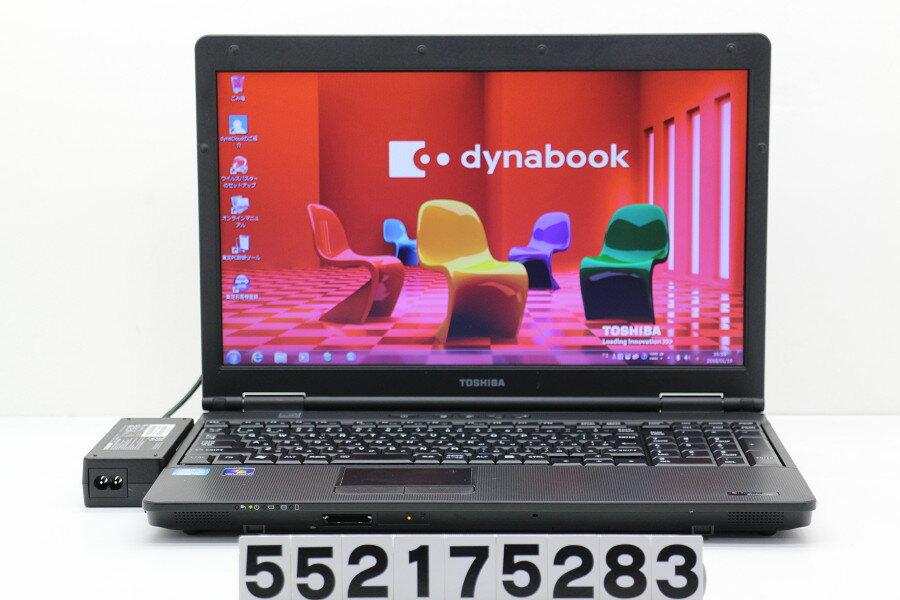 東芝 dynabook Satellite B552/F Core i5 3210M 2.5GHz/4GB/320GB/Multi/15.6W/FWXGA(1366x768)/Win7【中古】【20180120】