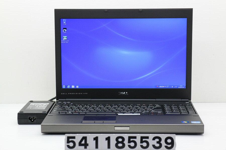 DELL Precision M4700 Core i7 3740QM 2.7GHz/16GB/500GB/Multi/15.6W/FHD(1920x1080)/Win7/Quadro K2000M【中古】【20180120】